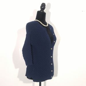 Vintage Style Blue Cardigan | Smart Set